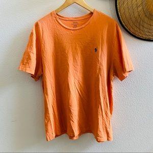 POLO RALPH LAUREN men's classic T-shirt orange XL